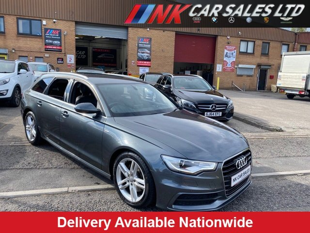 2013 63 AUDI A6 2.0 AVANT TDI S LINE 5d 175 BHP FULL LEATHERS SAT NAV  SOLD TO STUART FROM DONCASTER