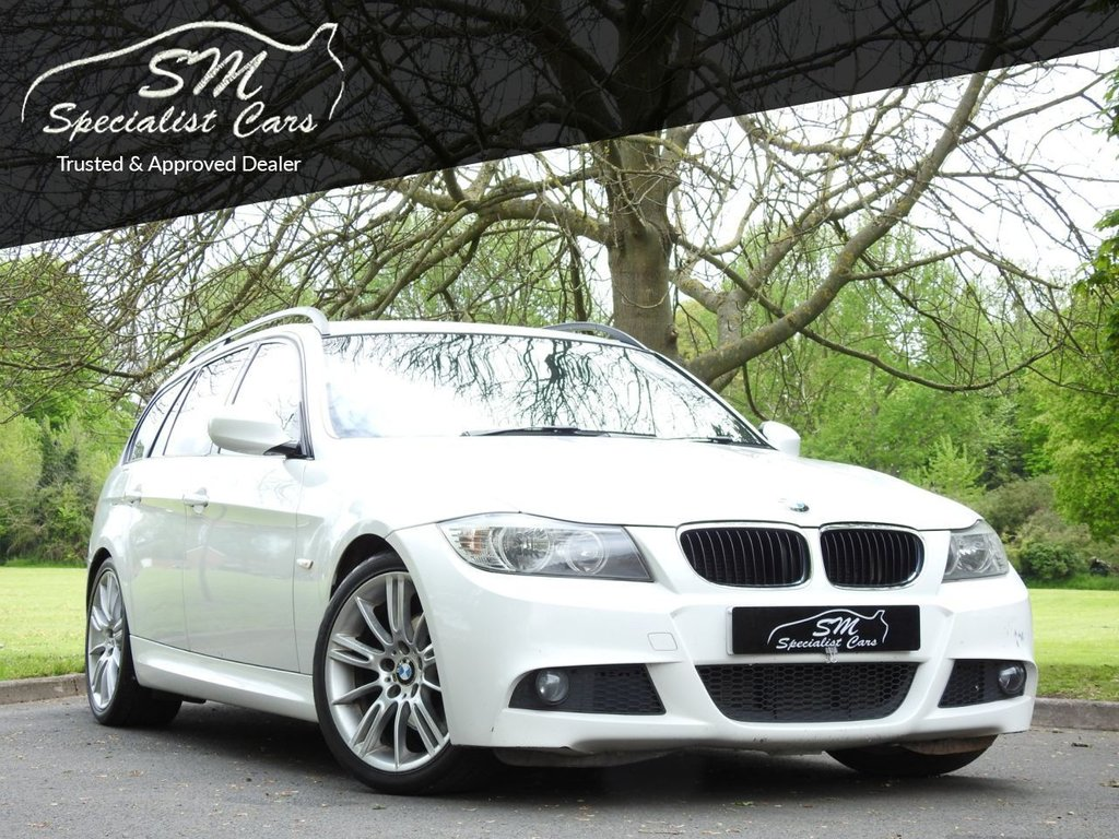 USED 2010 10 BMW 3 SERIES 2.0 320D M SPORT BUSINESS EDITION TOURING 5d 175 BHP HUGE SPEC LEATHER A/C VGC