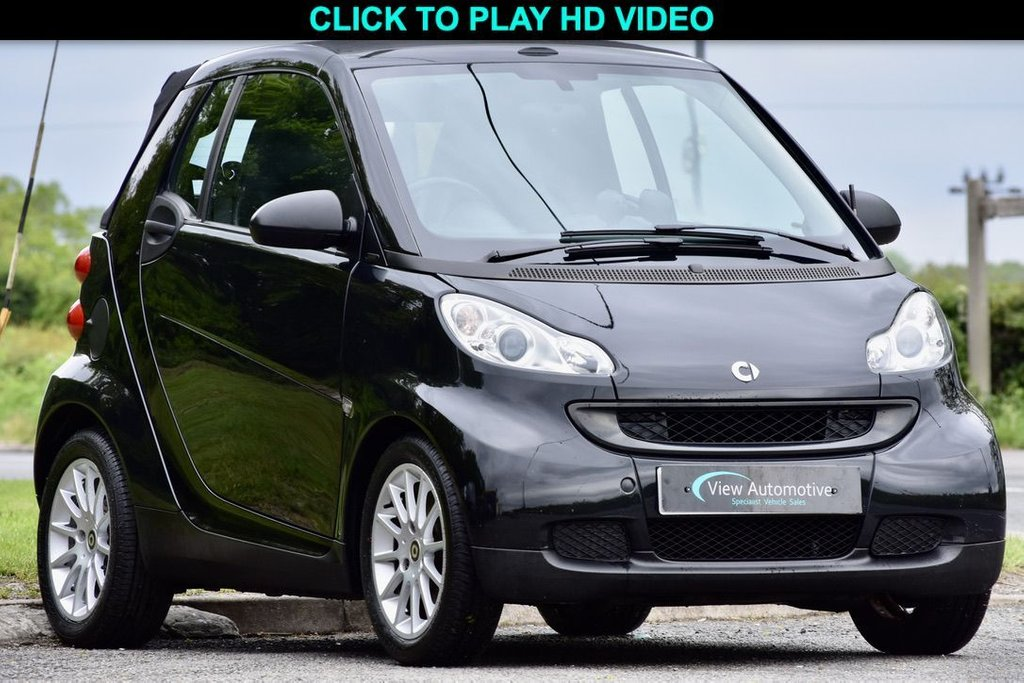 USED 2010 10 SMART FORTWO CABRIO 1.0 PASSION MHD 2d 71 BHP