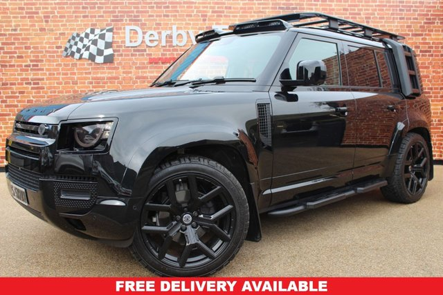 LAND ROVER DEFENDER at Derby Trade Cars