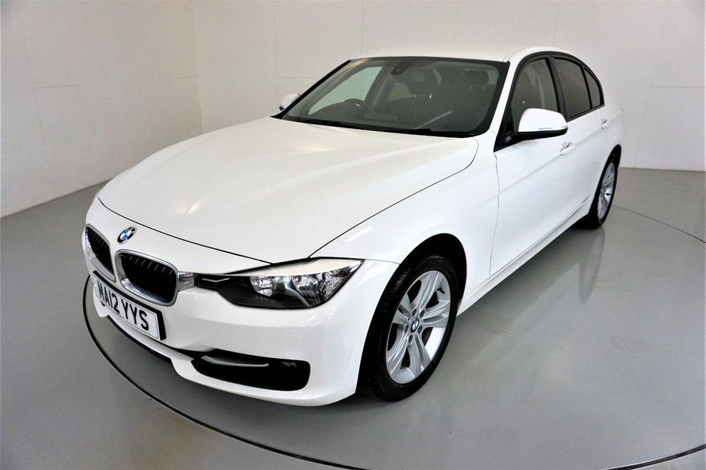 USED 2012 12 BMW 3 SERIES 2.0 316D SPORT 4d 114 BHP-6 SPEED MANUAL-AUTO LIGHTS-BLUETOOTH-CLIMATE CONTROL-RADIO CD-MFSW-OBC-NICE EXAMPLE-£30 ROAD TAX