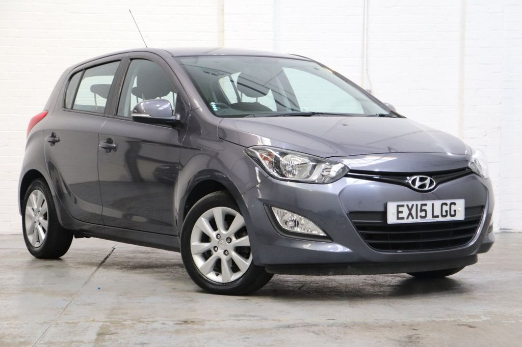 USED 2015 15 HYUNDAI I20 1.4 ACTIVE 5d 99 BHP Parking Aid + Very Low Mileage