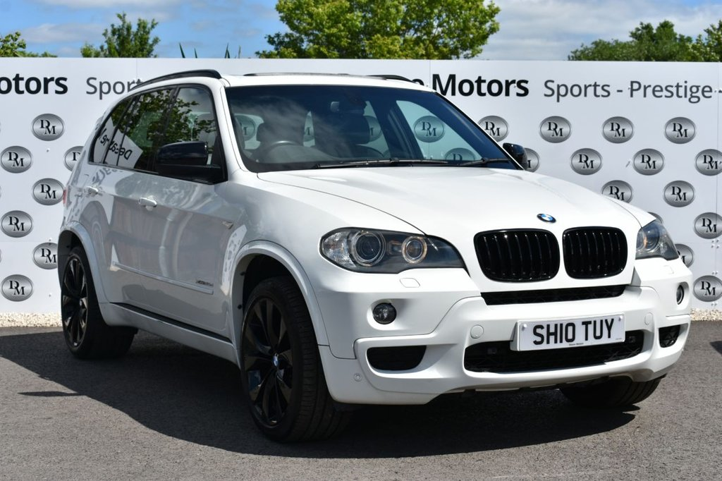 USED 2010 10 BMW X5 3.0 XDRIVE35D M SPORT 5d 282 BHP PANROOF