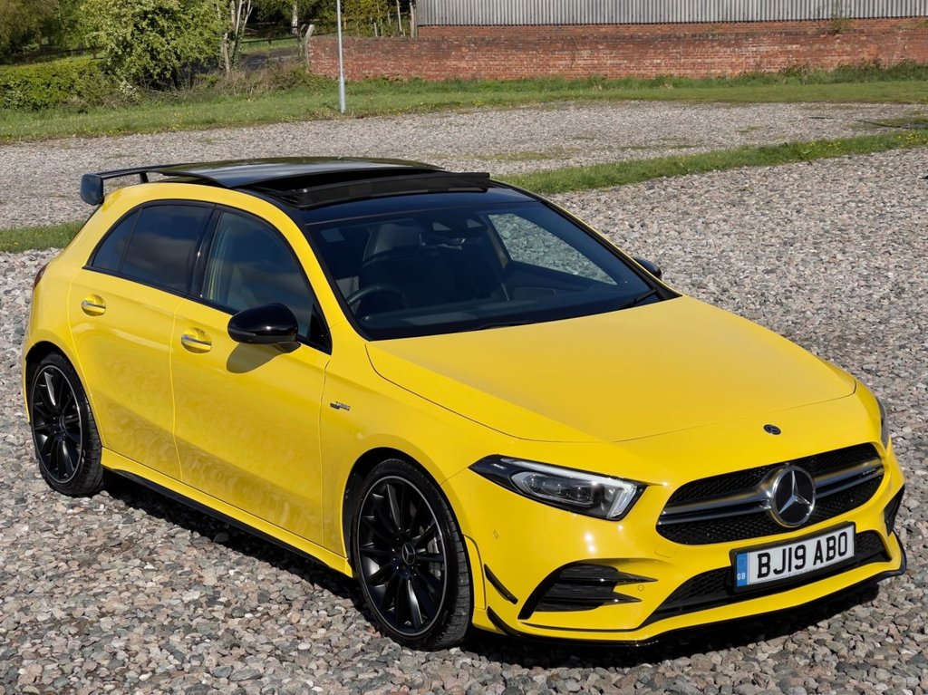 USED 2019 19 MERCEDES-BENZ A-CLASS 2.0 AMG A 35 4MATIC PREMIUM PLUS 5d 302 BHP Free Next Day Nationwide Delivery