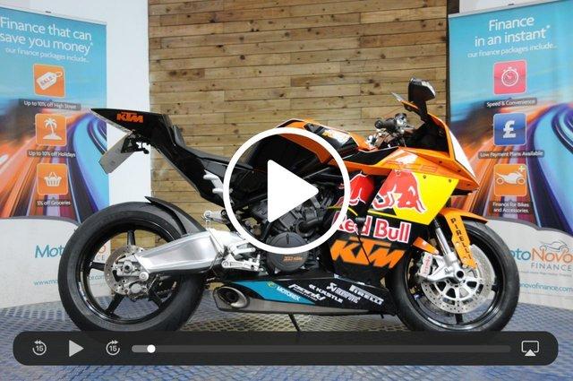 USED 2010 10 KTM RC8 1190 RC8