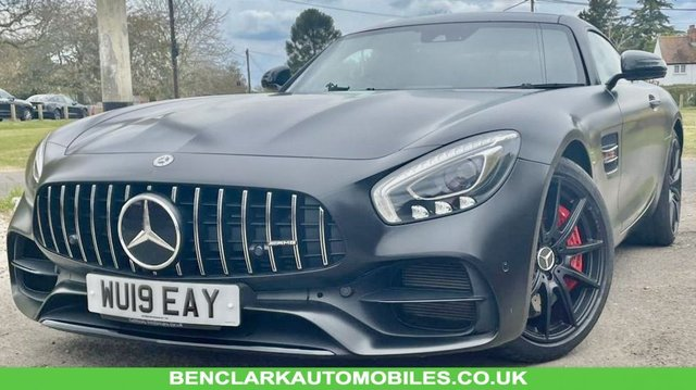 2019 19 MERCEDES-BENZ GT 4.0 AMG GT S PREMIUM 2d AUTO 522 BHP ONLY 8,200 MILES// MERC SERVICES X2//BURMEISTER SOUND//KEYLESS GO //PANORAMIC ROOF//AMG SILLS//EXTERIOR NIGHT PACKAGE