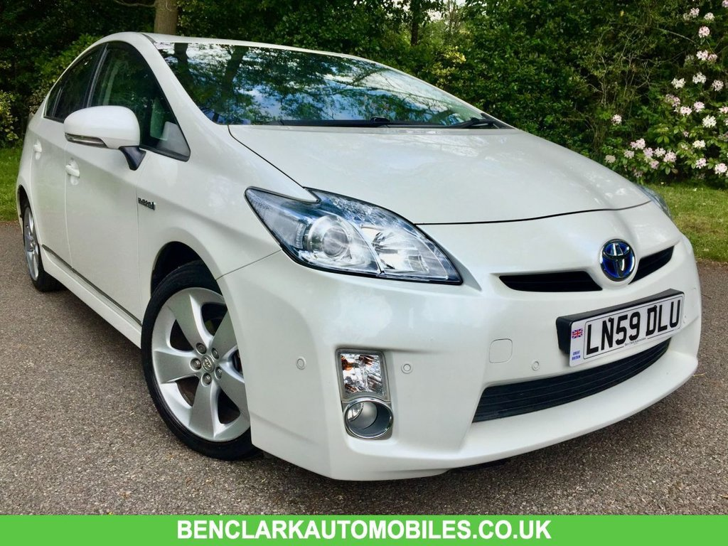 USED 2009 59 TOYOTA PRIUS  1.8 T SPIRIT VVT-I 5d AUTO 99 BHP  ZERO COST ROAD TAX//\\ONLY 25,500 MILES 23,000 MILES//1 OWNER ONLY 23,000 MILES/1 RETIRED LADY OWNER // ZERO COST ROAD TAX-