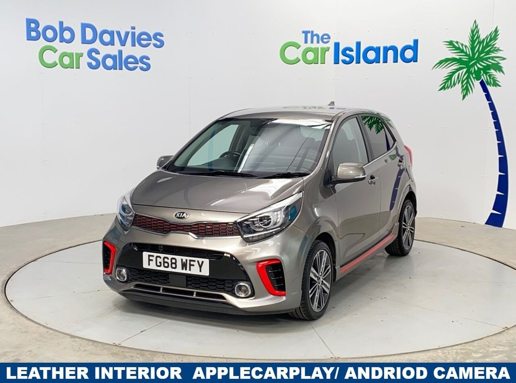 USED 2018 68 KIA PICANTO 1.0 GT-LINE 5d 99 BHP Apple Car Play Reverse Camera Full Leather 20000 miles