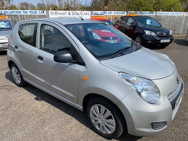 USED 2012 62 SUZUKI ALTO 1.0 SZ 5d 68 BHP CHEAP CAR LOW MILEAGE ONE OWNER