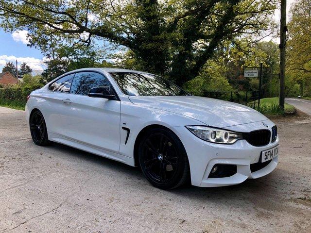 2014 14 BMW 4 SERIES 2.0 420D XDRIVE M SPORT 2d 181 BHP