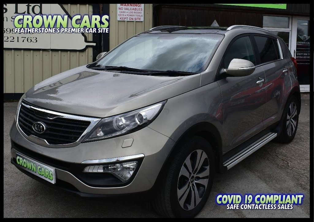 USED 2011 11 KIA SPORTAGE 1.7 CRDi 3 2WD 5dr CHERISHED FROM NEW