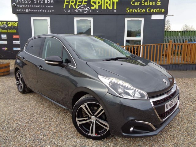 USED 2015 65 PEUGEOT 208 1.2 PureTech GT Line (s/s) 5dr Bluetooth, DAB, Apple Car Play