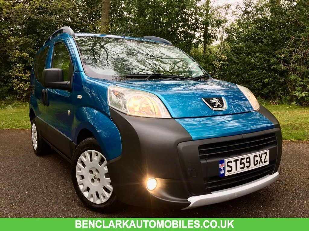 USED 2009 59 PEUGEOT BIPPER 1.4 TEPEE OUTDOOR HDI 5d 68 BHP ONLY 56,800 MILES//1 OWNER//30 POUND ROAD TAX//COMES WITH NEW MOT ONLY 56,800 MILES//1 OWNER//30 POUND ROAD TAX // TOWBAR