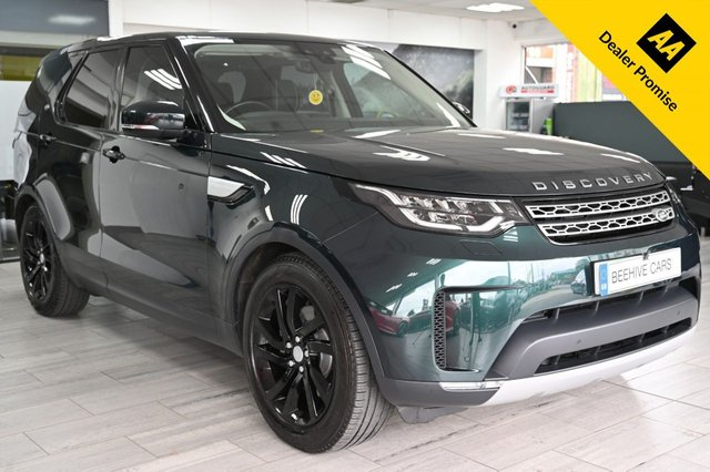 USED 2017 17 LAND ROVER DISCOVERY 3.0 TD6 HSE 5d 255 BHP
