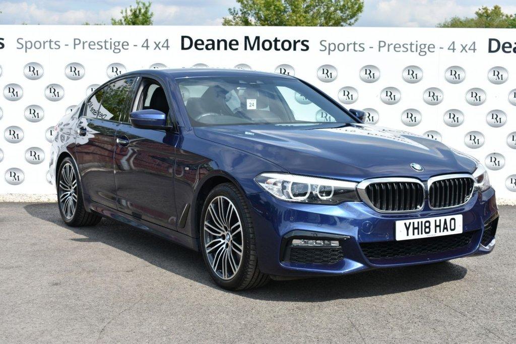 USED 2018 18 BMW 5 SERIES SALOON 540i X DRIVE M SPORT 4DR AUTO