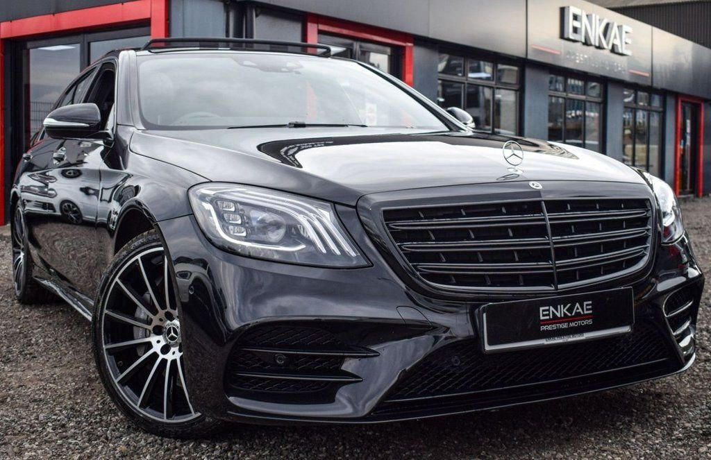 USED 2018 68 MERCEDES-BENZ S-CLASS 3.0 S 450 L AMG LINE EXECUTIVE 4d 363 BHP