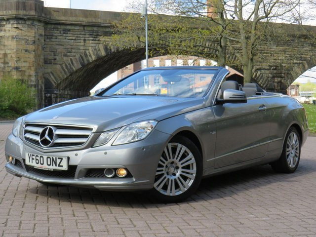 USED 2011 60 MERCEDES-BENZ E-CLASS 2.1 E220 CDI BLUEEFFICIENCY SE 2d 170 BHP
