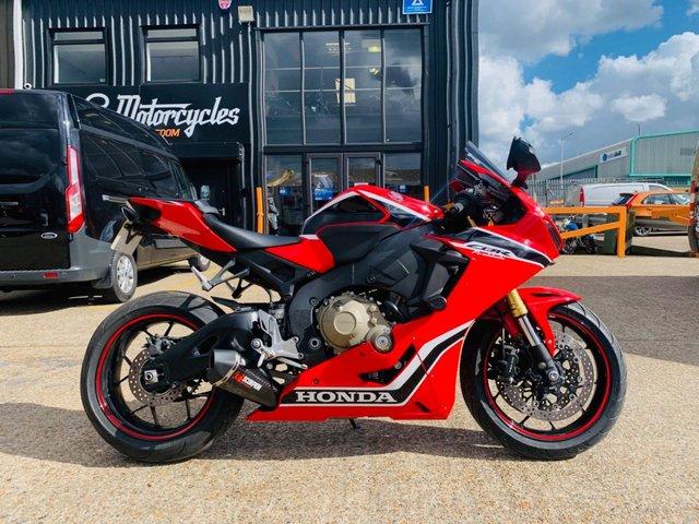 USED 2017 17 HONDA CBR1000RR FIREBLADE RA-H  188 BHP