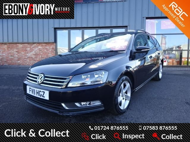 USED 2011 11 VOLKSWAGEN PASSAT 1.6 S TDI BLUEMOTION TECHNOLOGY 5d 104 BHP + FULL SERVICE HISTORY + 1 YEAR MOT AND BREAKDOWN COVER