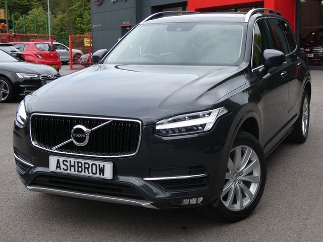 USED 2017 17 VOLVO XC90 2.0 D5 POWERPULSE MOMENTUM PRO AWD 5d AUTO 235 S/S SAT NAV, FULL LEATHER INTERIOR, HEATED FRONT SEATS, VIRTUAL COCKPIT, ADAPTIVE CRUISE CONTROL,FRONT & REAR PARKING SENSORS, PARK ASSIST, INTELLI SAFE COLLISION WARNING LANE ASSIST ROAD SIGN INFORMATION & SPEED CAMERA WARNING, CORNERING LIGHTS, LED HEADLIGHTS, 19 INCH 10 SPOKE ALLOYS, TWIN EXHAUST, ELECTRIC TAILGATE, 7 SEAT, ELECTRIC FOLDING MIRRORS, ELECTRIC FRONT SEATS WITH DRIVER MEMORY, RAIN & LIGHT SENSORS, AUTO HOLD, KEYLESS ENTRY & START, VOICE CONTROL, BLUETOOTH, DAB, GOOD SERVICE HISTORY