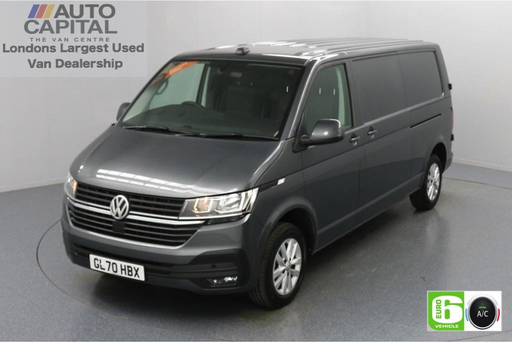USED 2020 70 VOLKSWAGEN TRANSPORTER 2.0 T30 TDI HighLine Auto 150 BHP LWB Low Emission Automatic   Park Distance Control   Apple CarPlay   Android Auto   MirrorLink   Touch Screen   Air Con   Auto Start-Stop system