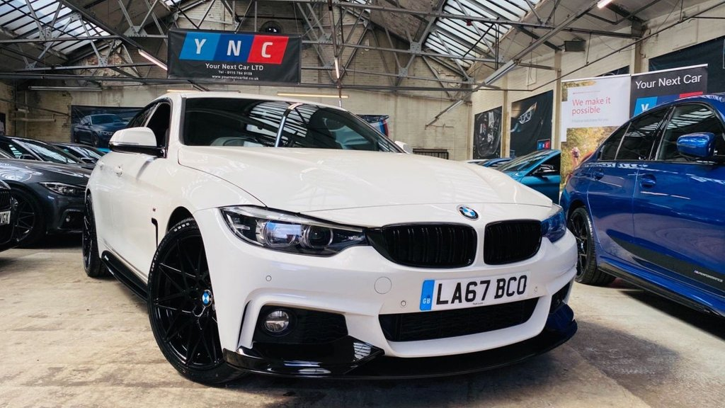 USED 2018 67 BMW 4 SERIES 2.0 420d M Sport Gran Coupe Auto (s/s) 5dr PERFORMANCEKIT+20S+FACELIFT