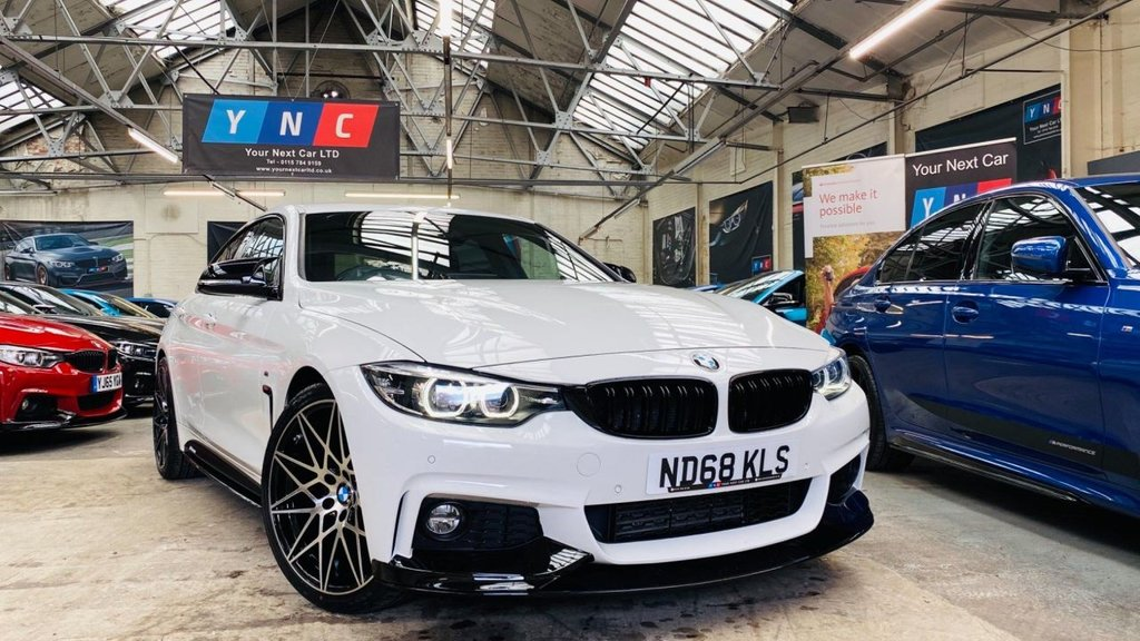 USED 2018 68 BMW 4 SERIES 2.0 420d M Sport Gran Coupe Auto (s/s) 5dr PERFORMANCEKIT+20S+FACELIFT