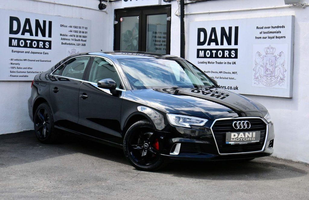 USED 2017 17 AUDI A3 2.0 TDI 35 Sport S Tronic (s/s) 4dr 1 OWNER*SATNAV*APPLE PLAY
