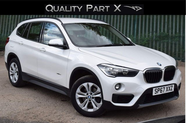 USED 2017 67 BMW X1 2.0 18d SE Auto sDrive (s/s) 5dr ULEZ,SATNAV,BLUETOOTH,SENSORS