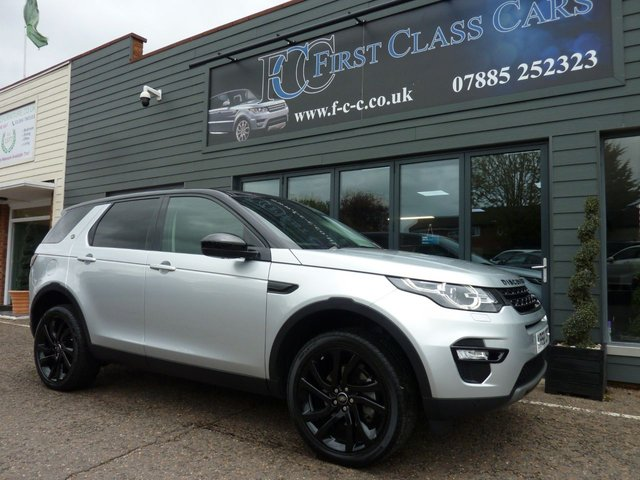 2018 68 LAND ROVER DISCOVERY SPORT 2.0 TD4 HSE BLACK 5d 178 BHP