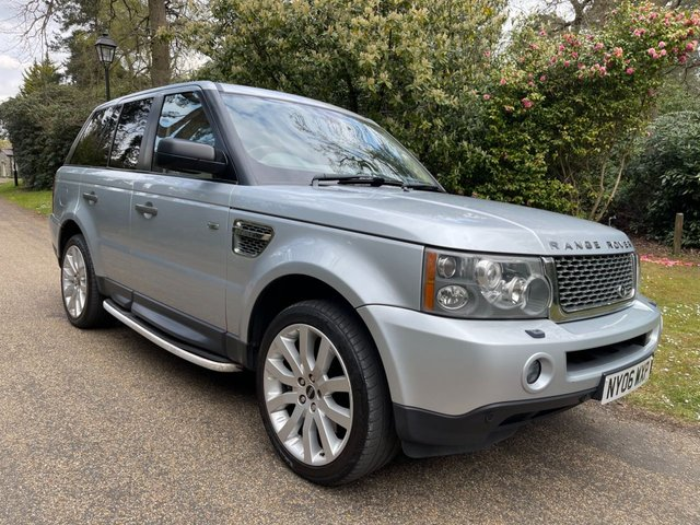 USED 2006 06 LAND ROVER RANGE ROVER SPORT 4.4 V8 HSE 5d 295 BHP