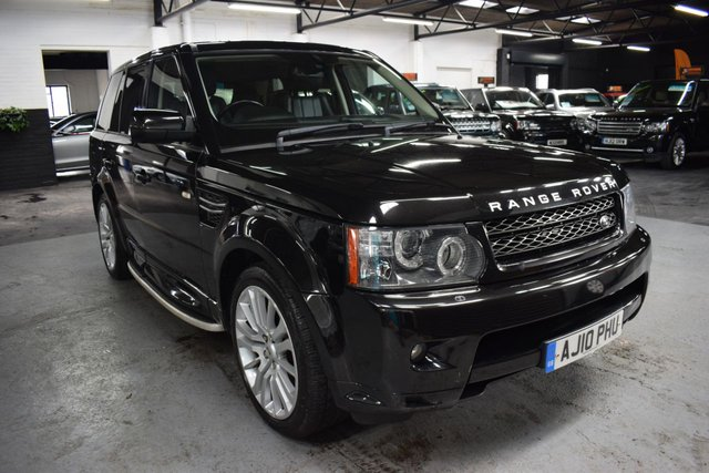 USED 2010 10 LAND ROVER RANGE ROVER SPORT 3.0 TDV6 HSE 5d 245 BHP STUNNING CONDITION THROUGHOUT - HSE - 6 STAMPS TO 93K - LEATHER - NAV - HEATED SEATS - SIDE STEPS - 20 INCH ALLOY WHEELS