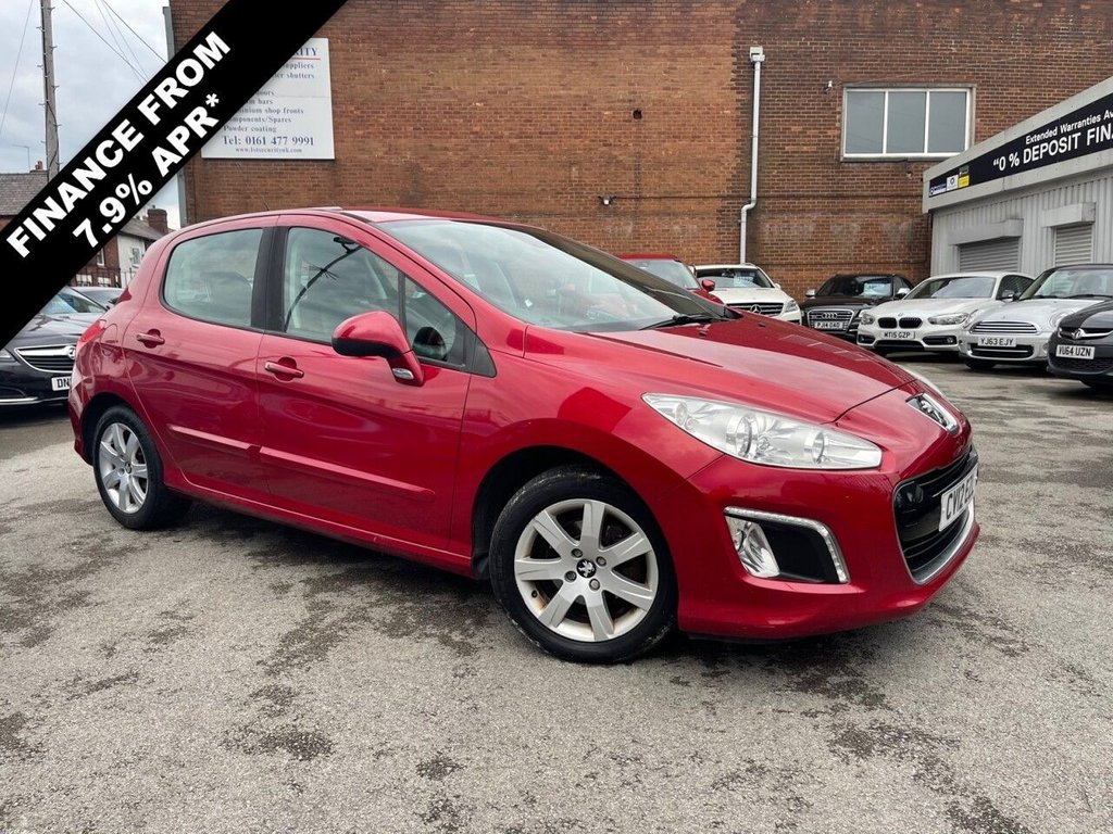 USED 2012 12 PEUGEOT 308 1.6 HDI ACTIVE 5d 92 BHP DECEMBER MOT + JUST SERVICED!