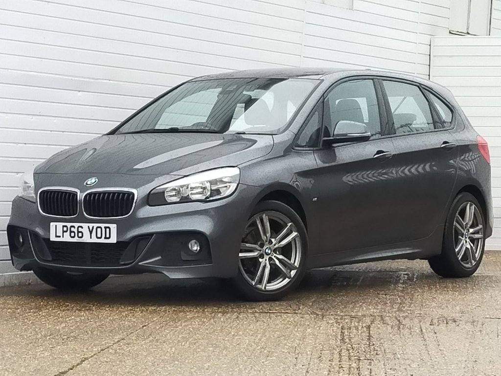 USED 2017 66 BMW 2 SERIES 1.5 218I M SPORT ACTIVE TOURER 5d 134 BHP