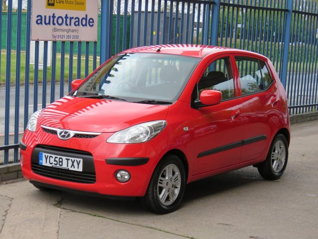 USED 2009 58 HYUNDAI I10 1.2 COMFORT 5dr 77 Air conditioning- Alloys- Fogs- AUX-in-Electric windows Part exchange available Open 7 days ULEZ Compliant