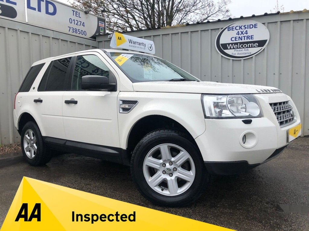 USED 2010 10 LAND ROVER FREELANDER 2.2 TD4 E GS 5d 159 BHP AA INSPECTED. FINANCE. WARRANTY. LOW MILEAGE. MANY EXTRAS