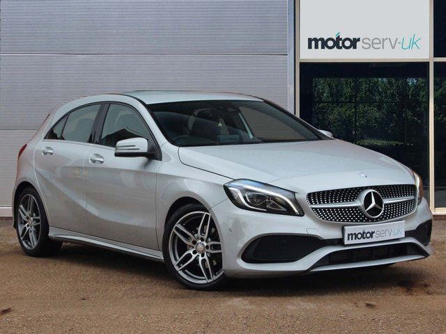 USED 2016 16 MERCEDES-BENZ A-CLASS 1.6 A 200 AMG LINE PREMIUM 5d 154 BHP