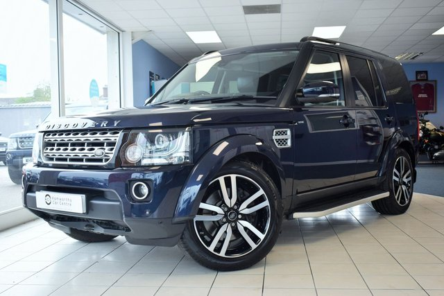 2016 16 LAND ROVER DISCOVERY 4 3.0 SDV6 HSE LUXURY 5d 255 BHP REAR DVDS
