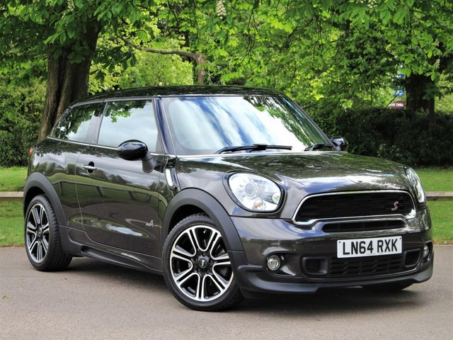 USED 2014 64 MINI PACEMAN 1.6 COOPER S ALL4 3d 184 BHP £231 PCM With £1299 Deposit