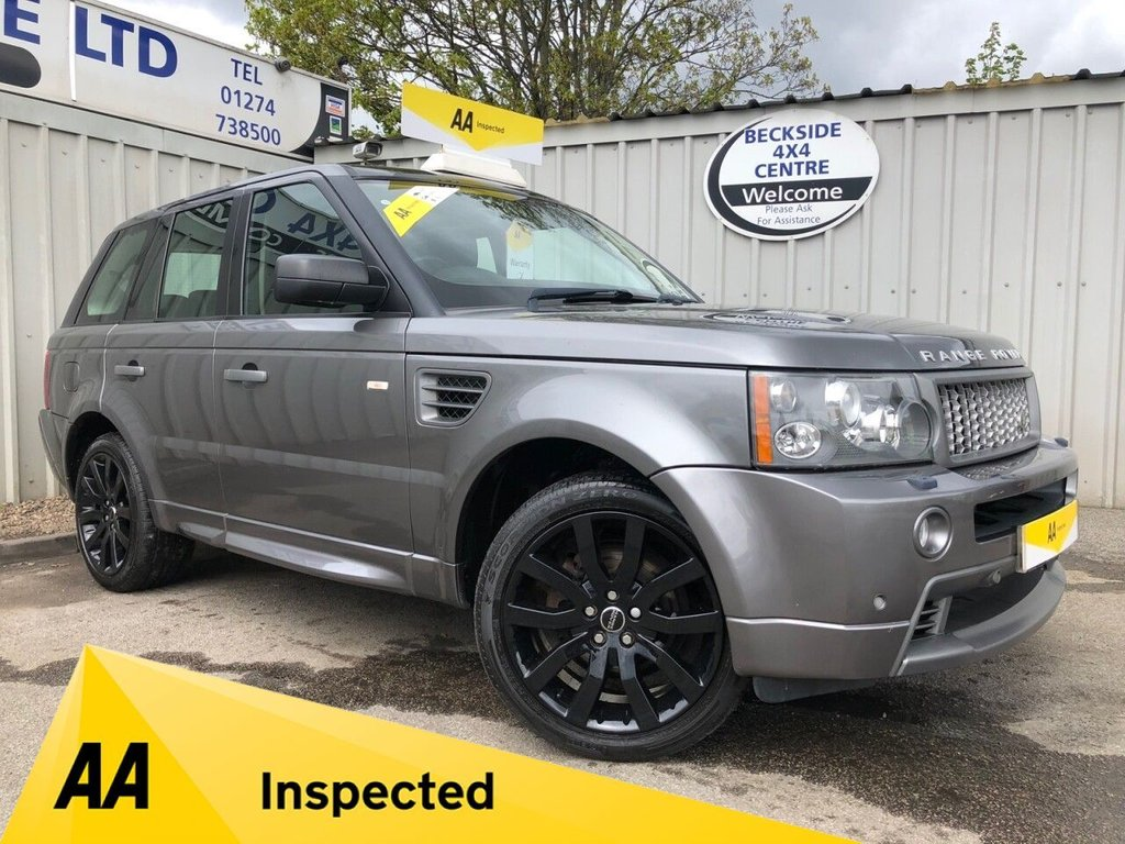 USED 2009 09 LAND ROVER RANGE ROVER SPORT 2.7 TDV6 STORMER EDITION 5d 188 BHP AA INSPECTED. FINANCE. WARRANTY. HIGH SPEC. LOW MILEAGE, AUTOMATIC