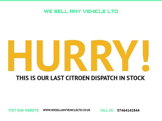 USED 2010 10 CITROEN DISPATCH 1.6 1000 L1H1 SWB HDI 90 6d 89 BHP