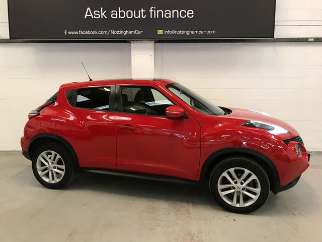 USED 2017 67 NISSAN JUKE 1.2 N-CONNECTA DIG-T 5d 115 BHP
