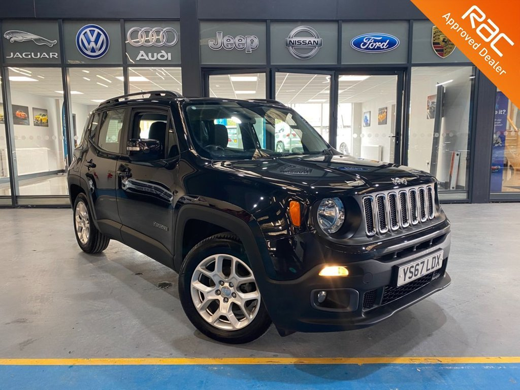 USED 2018 67 JEEP RENEGADE 1.6 M-JET LONGITUDE 5d 118 BHP Complementary 12 Months RAC Warranty and 12 Months RAC Breakdown Cover Also Receive a Full MOT With All Advisory Work Completed, Fresh Engine Service and RAC Multipoint Check Before Collection/Delivery