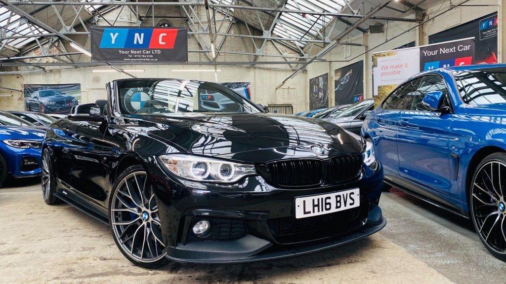 USED 2016 16 BMW 4 SERIES 3.0 430d M Sport Auto 2dr PERFORMANCEKIT+20S+COMFRT&MPAC