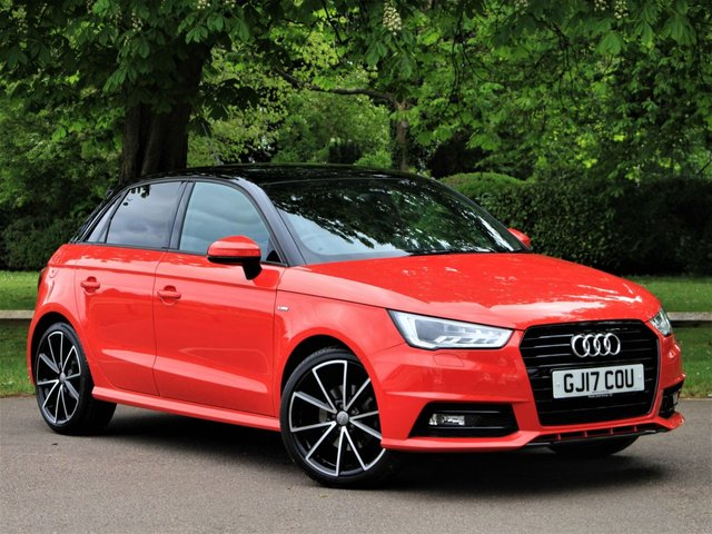 USED 2017 17 AUDI A1 1.4 TFSI CoD Black Edition Sportback S Tronic (s/s) 5dr (Nav) £200 PCM With £1399 Deposit