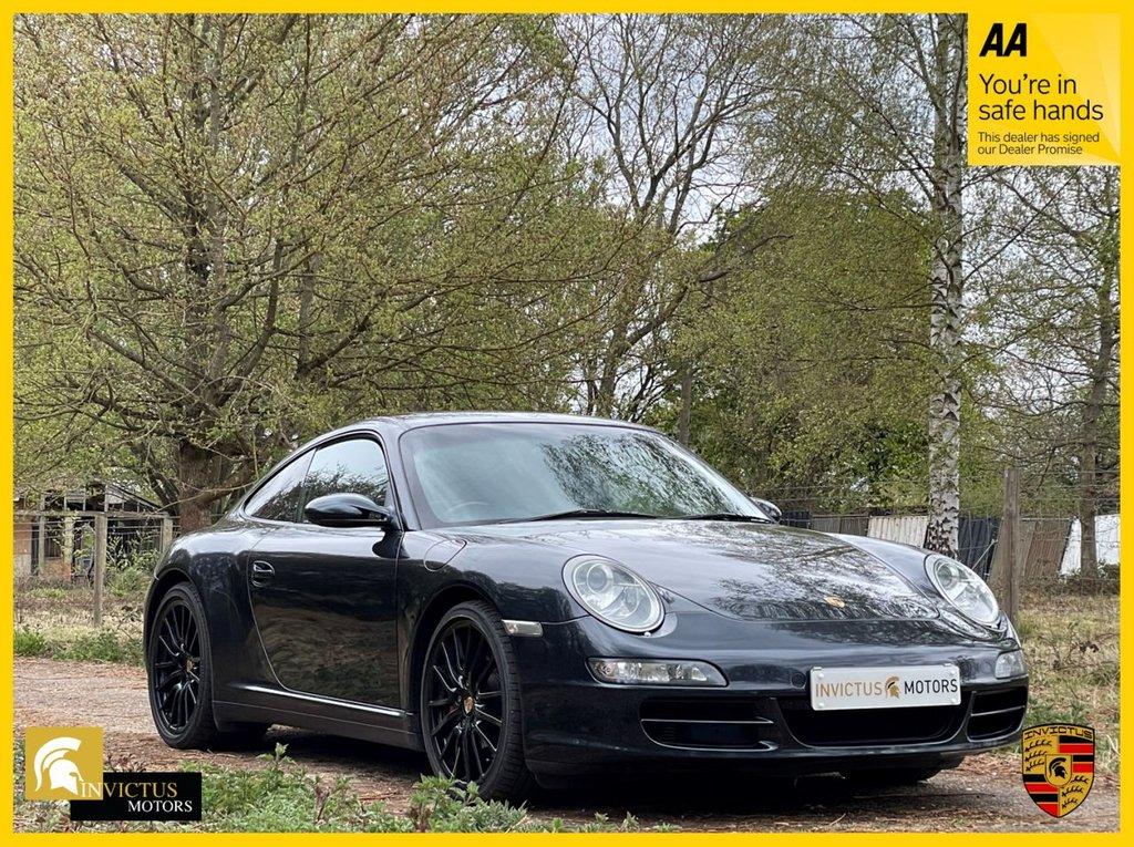 USED 2006 06 PORSCHE 911 3.8 CARRERA 4 TIPTRONIC S 2d 350 BHP