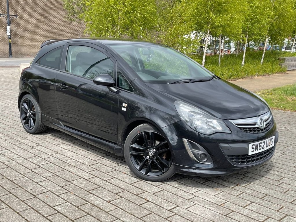 USED 2012 62 VAUXHALL CORSA 1.2 LIMITED EDITION 3d 83 BHP