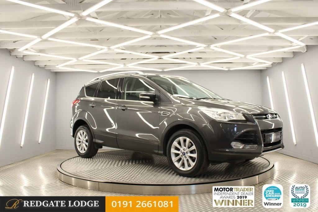 USED 2014 64 FORD KUGA 2.0 TITANIUM TDCI 5d 148 BHP 7 SERVICES, H/LEATHER, CRUISE