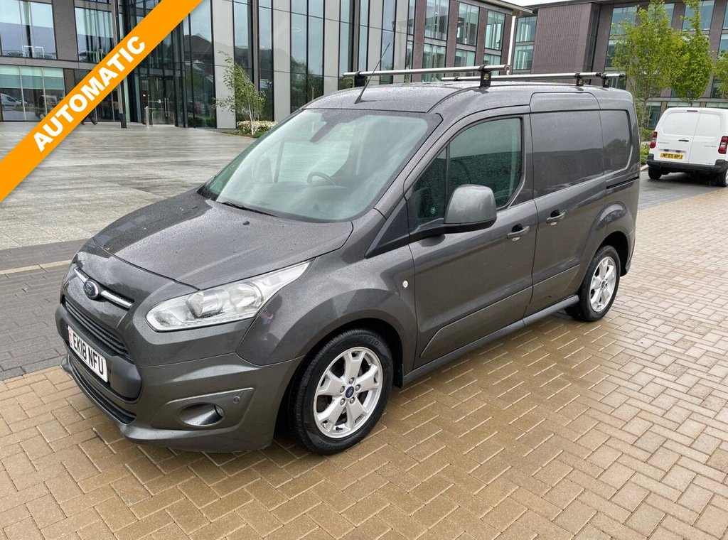 USED 2018 18 FORD TRANSIT CONNECT 200 LIMITED 1.5TDCI AUTOMATIC 120ps *ALLOYS*SENSORS*HEATED SEAT* AUTO-LIMITED-ALLOYS-SENSORS
