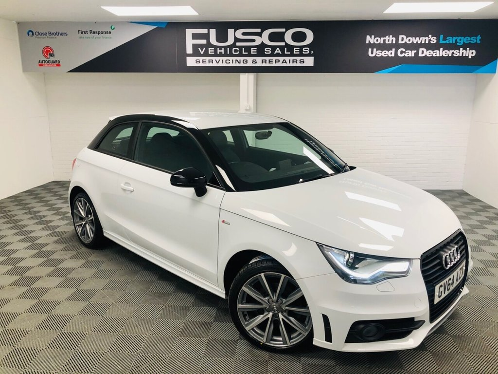 USED 2014 64 AUDI A1 1.6 TDI S LINE STYLE EDITION 3d 103 BHP NATIONWIDE DELIVERY AVAILABLE!